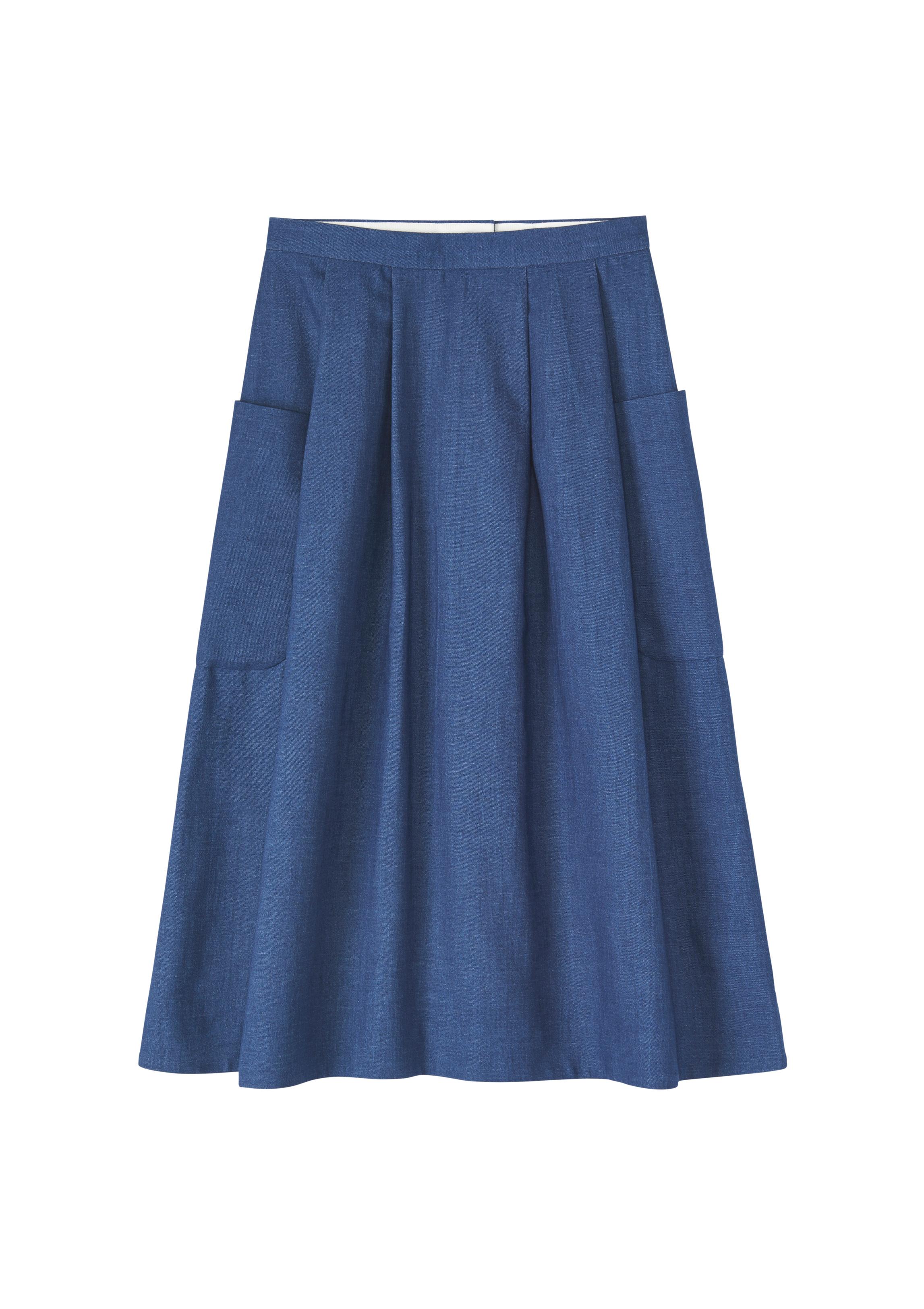 Akira midi skirt, £125, Toast