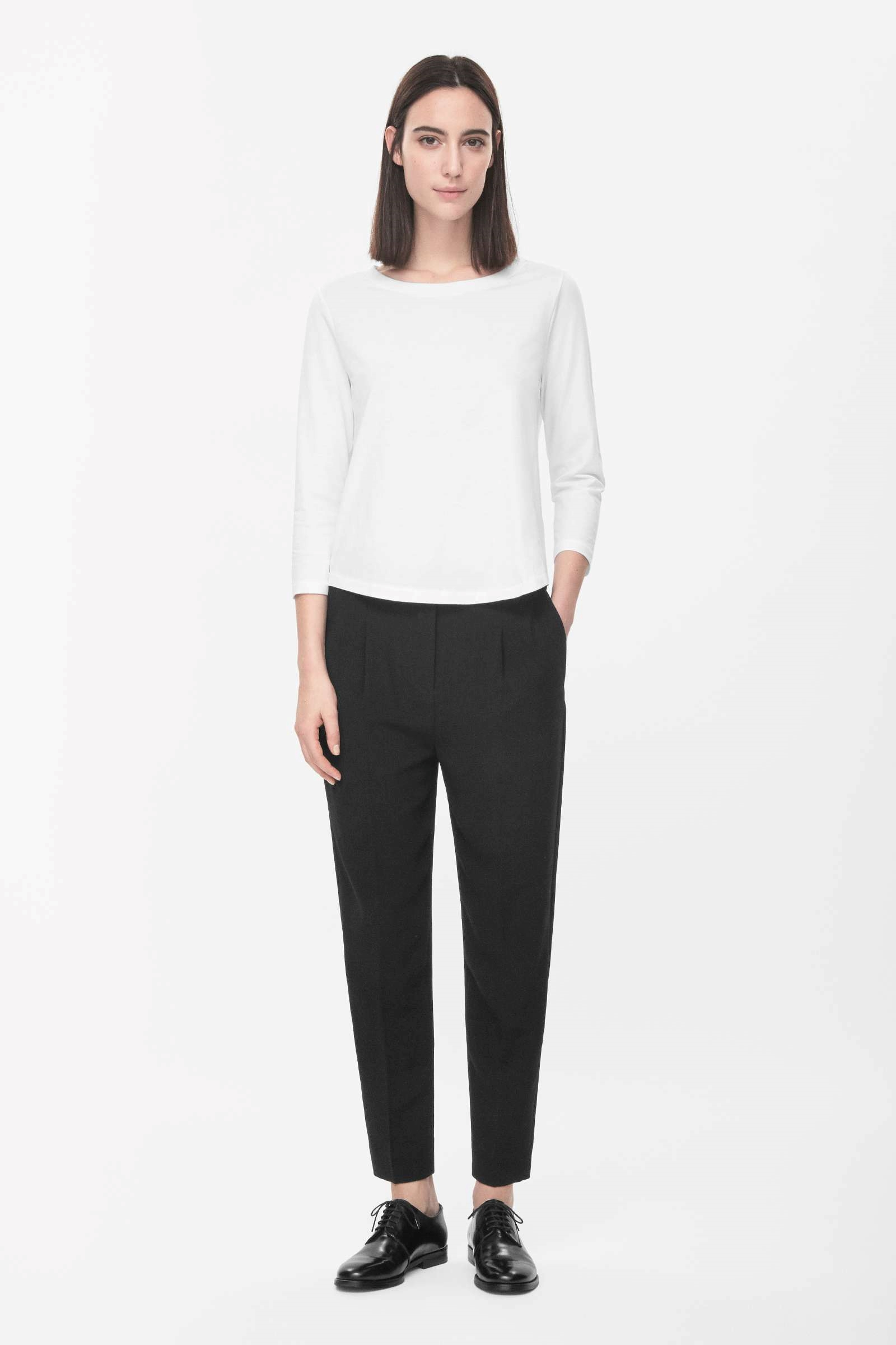 Loose-fit trousers, £69, Cos