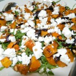Spicy butternut squash and couscous salad