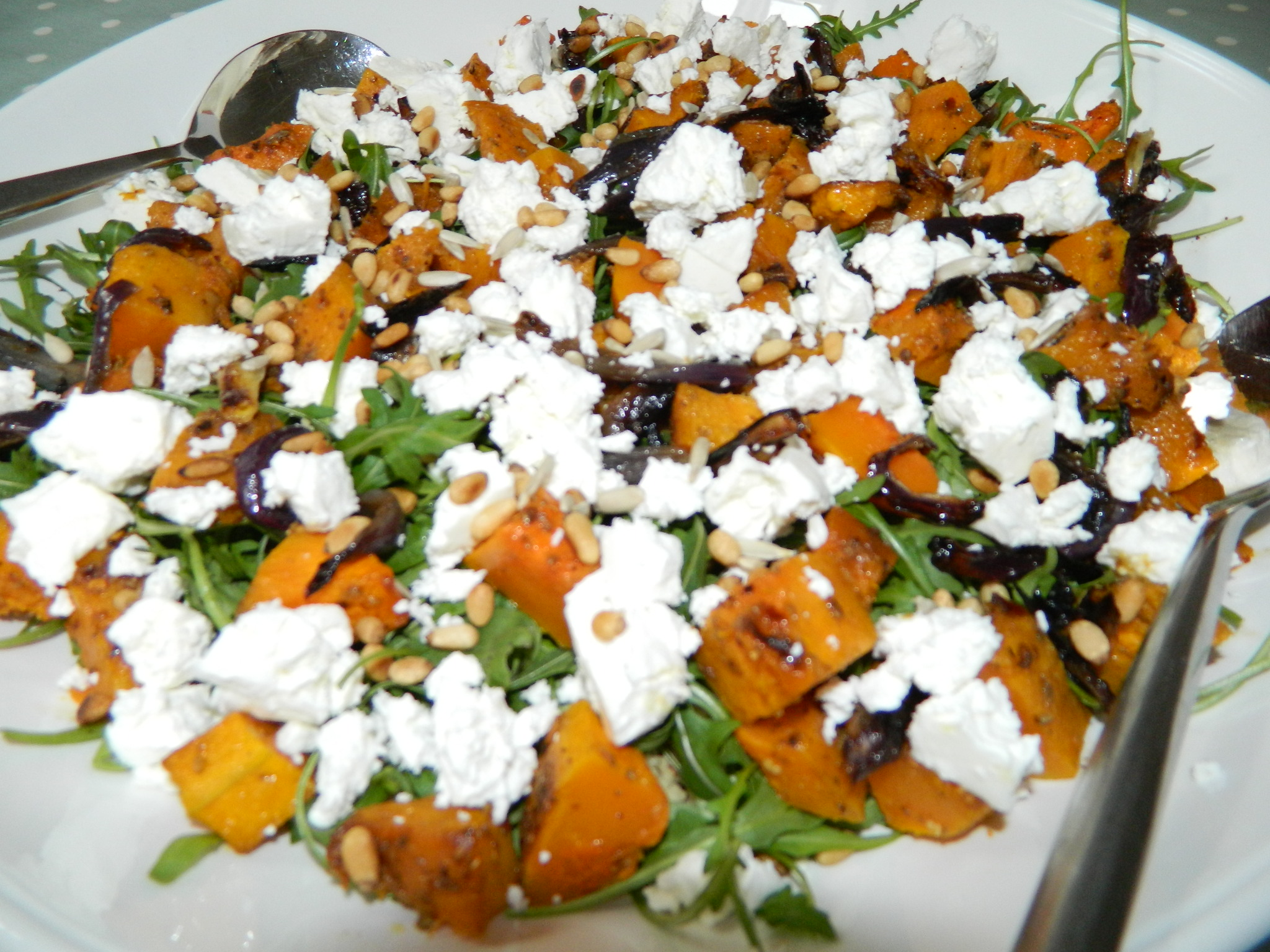 Moroccan butternut squash and couscous salad