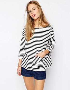 People Tree Breton Top, £38, ASOS