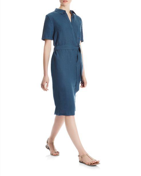 Linen dress, £xx, Jaeger