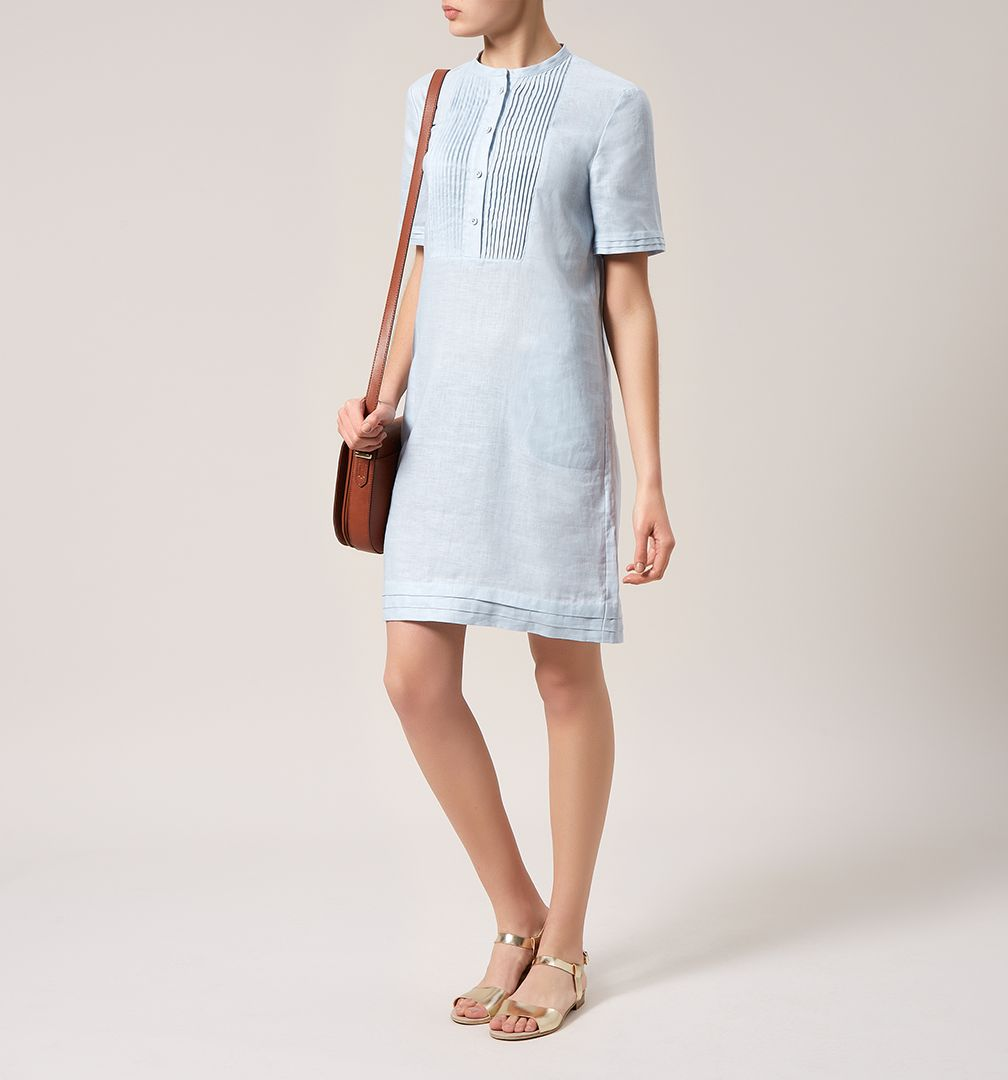 Linen dress, £95, Hobbs