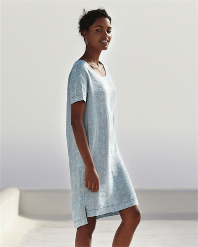 Linen dress, £xx, Poetry