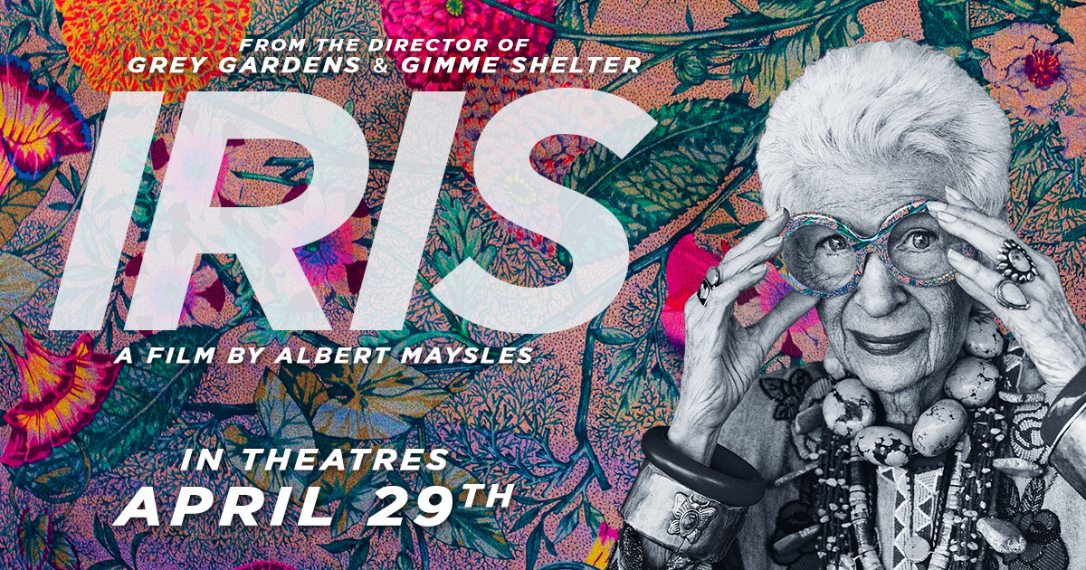 Iris Apfel movie poster