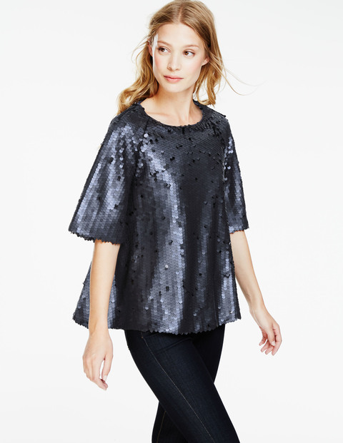 Statement sequin top, £89.25, Boden