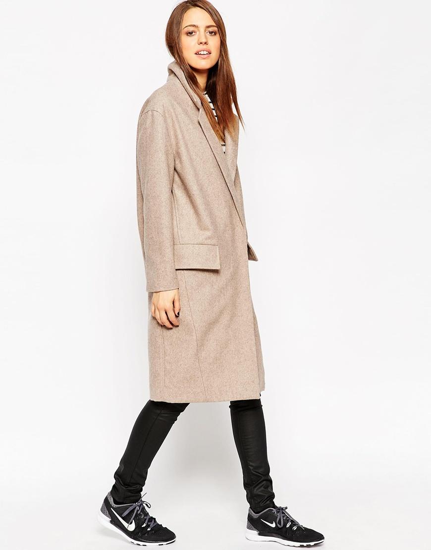 Oversize coat, £90, ASOS